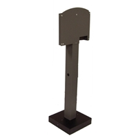 ClipperCreek CS Single Mount Pedestal Kit