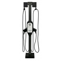 Clipper Creek Universal Pedestal Cable Management Extension - DUAL