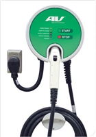 This is a photo of the AeroVironment RS Plug-in series Car Charging Station